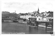 AK, Gmunden, Traunausfluss, 1928