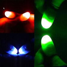EASY MAGIC Light Up Thumb Bundle Tip 1x Green 1x Red 1x Blue Close Up Tricks