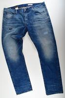 G-STAR RAW W40 L34, 3301 Slim Restored Jeans,  Jeanshose Itano Stretch Denim