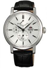 Orient Vintage Sapphire Automatic Leather Strap Men's Watch FEZ09004W0