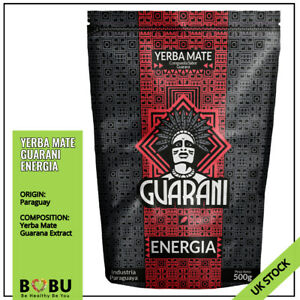 Yerba Mate GUARANI ENERGIA with GUARANA EXTRACT Weight Loss Energy Booster