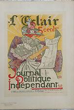 """THOMAS H  """"L'ECLAIR"""" 1900"""