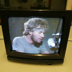 "Akura CX30 14"" CRT 1980s colour TV Gaming Television Vintage"