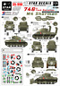 Star Decals, 35-990, Decal for US 746th Tk Bn Shermans in Normandy, 1:35