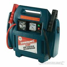 900A 12v Heavy Duty Car Battery Jump Starter Portable Booster Air Compressor New