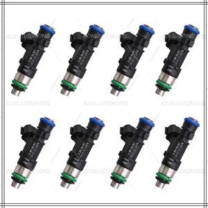 Set 8X Fuel Injectors For 2004-2012 Nissan Titan 5.6L V8 - 0280158007