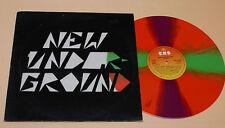 LP PROG NEW WAVE-1°PR MULTICOLOR VINYL 1983 TOP EX