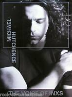 INXS Michael Hutchence 1999 Solo Album Pre Release Perforated Promo Poster