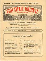 the philatelic journal of great britain . april - june 1942