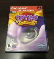 Spyro: Enter the Dragonfly Greatest Hits (Sony PlayStation 2, 2002) Complete PS2