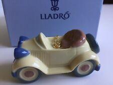 Lladro Santa's Workshop Little Roadster ornament - Pib - perfect - 6381 Retired