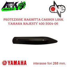 Protezione Marmitta Paracalore in Carbonio Yamaha YP Majesty 400 2004-2005-2006