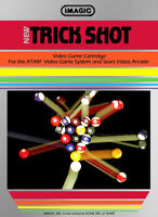 Trick Shot - Atari 2600 Arcade Game 1982 Cartridge Only