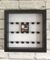 Minifigure Black Display Case Frame Black Lego Brick Series     Harry Potter