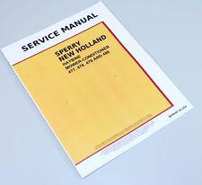 New Holland 477 478 479 488 Haybine Mower Conditioner Service Repair Manual