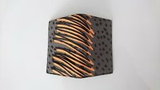 Paul Smith Wallet - BNWT Grey-tone Orange Scribble Card Holder RRP:£130