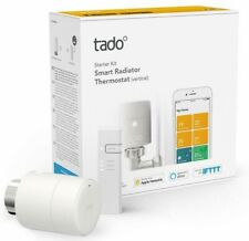 tado Smart Radiator Thermostat Starter Kit V3+ Vertical Internet Bridge & TRV