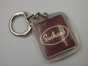 Porte clé ancien vintage année 60-70 Suchard chocolat en poudre porte clef ST69