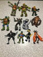 Lot of Teenage Mutant Ninja Turtles TMNT Playmates Figures Viacom