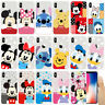 Mickey Minnie Disney Phone Case Shell Cartoon Cover TPU Silicone Back For iPhone