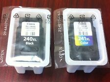 2PK Genuine Canon OEM PG-240XL Black & CL-241XL Color Ink Cartridges for MG2120