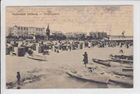 AK Ostseebad Ahlbeck, Strandpartie, 1913