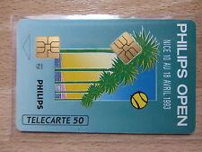 Seltene Telefonkarte Frankreich mit 2. Chip Modul Rar Selten