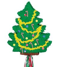 Christmas Tree Pinata Kids Adults Party Game Xmas Hanging Table Decoration Empty