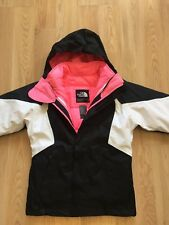 The North Face girls' Kira Triclimate Jacket pink sz 7/8