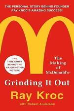 NEW Grinding It Out: The Making of McDonald's by Ray Kroc