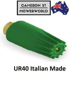 Turbo nozzle UR40 Rotary nozzle hydro excavation nozzle/dirt blaster size 080