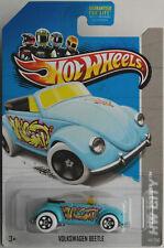 "Hot Wheels-VW BEETLE CABRIOLET BLEU CLAIR ""GRAFFITI RIDES"" Nouveau/Neuf dans sa boîte US-Card"