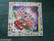 MONOPOLY SPARES:  PLAYING BOARD - HASBRO 2005 HERE & NOW - EXCELLENT CONDITION
