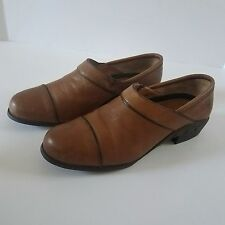 ARIAT ATS 11B Brown Leather Slip On Casual Shoes Womens Medium Euro 42.5 UK 8.5
