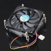 12V 4Pin CPU Heatsink Cooling Fan for 65W Intel Socket LGA 1155/1156 Core i3/i5