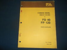 FIAT ALLIS FD40 FP120 KT-1150-C480 C450 CUMMINS ENGINE PARTS MANUAL BOOK CATALOG