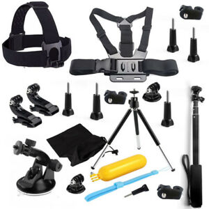 Camera Set Kit Accessories for Sony Action Cam HDR AS200V AS30V AS100V Xiaomi yi