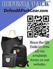 Certified Bulletproof Panel Lightweight Body Armor Level IIIA 10x12 Standard Cut
