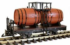 Zenner Wine Barrel Cart G Scale with Lgb Wine Barrels Made Of Plastic