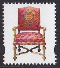 2017 Windsor Castle Throne u/m Cinderella 'stamp' from Prestige Book