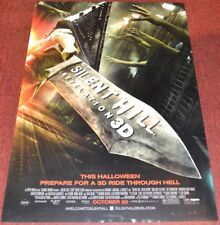 SILENT HILL: REVELATION 3-D 2012 ORIGINAL DOUBLE-SIDED 27x40 MOVIE POSTER!