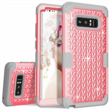 Bling Glitter Shockproof Hard Case For Samsung Galaxy Note 8 S8 + Rubber Cover