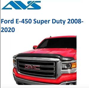 AVS Bugflector II Smoke Hood Protector For 2008-2020 Ford E-450 Super Duty