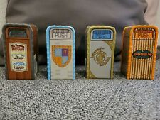 Disneyland Parks Trash Can Salt and Pepper Shakers - Lot of 4 - Rare, Brand New!