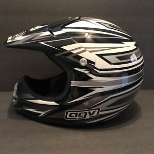 AGV Motocross MOTORCYCLE HELMET MODEL RC-5 Size Youth L With Visor