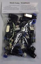 Pneumatique 10mm raccords instantanes Multipack (droite, coudes & tees) tc 10 pack
