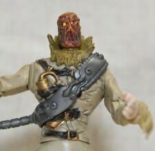 """Batman Begins Movie Skull Strike Scarecrow Action Figure Toy Dc Mattel 2005 5.5"""""""