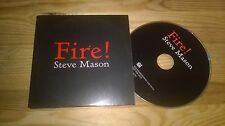 CD indie Steve Mason-Fire! (1) canzone PROMO DOUBLE SIX CB