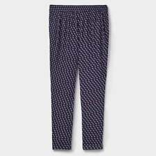 JOULES Anice Crepe Viscose Trousers Oyster Catcher Sz 12 14 RRP£49.95 FreeUKP&P
