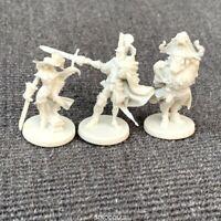 3pcs Unpainted hero Dungeons & Dragon D&D Marvelous Miniatures toy figures GIFT